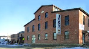 immeuble usine brique situé à Arthabaska